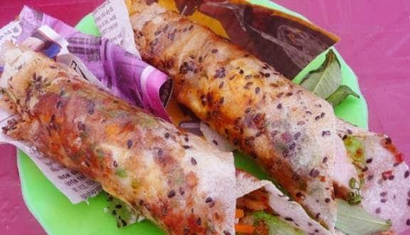 Bánh tráng cuốn dẻo, Bình Thuận
