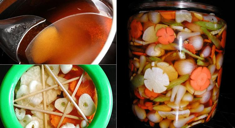 Cách làm dưa món mặn đơn giản, dễ dàng ngay tại nhà