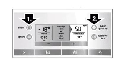 Chức năng làm lạnh siêu nhanh tủ lạnh Bosch side by side