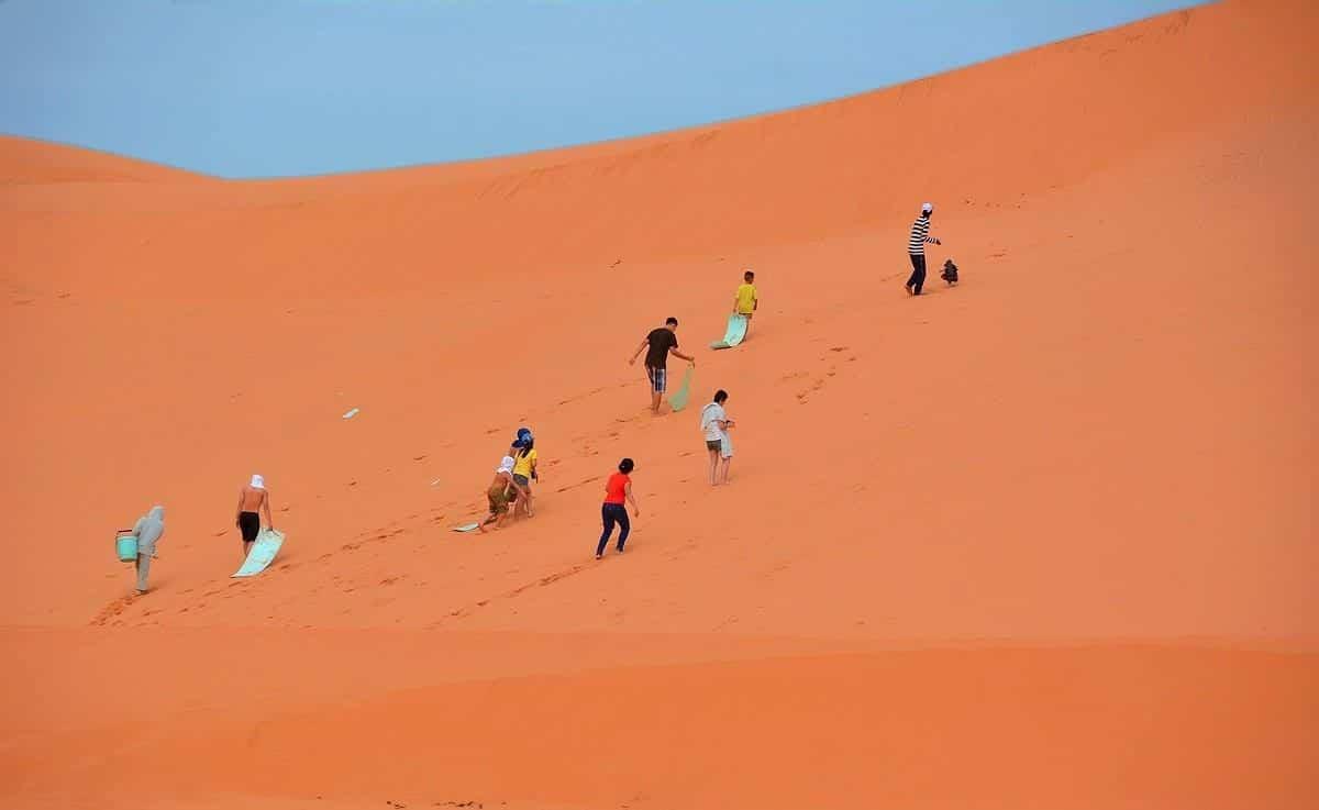 Điểm đến du lịch Đồi cát bay Mũi Né