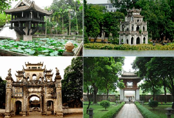 Du lịch Hà Nội với nhiều địa danh du lịch nổi tiếng