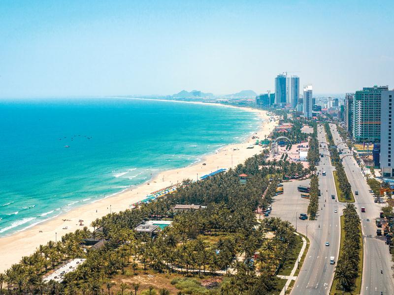 Du lịch miền trung với nhiều bãi biển đẹp