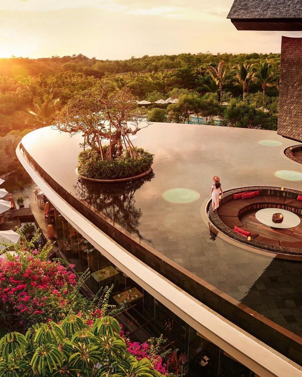 Khung cảnh resort 5 sao tại Bali đẹp như mơ