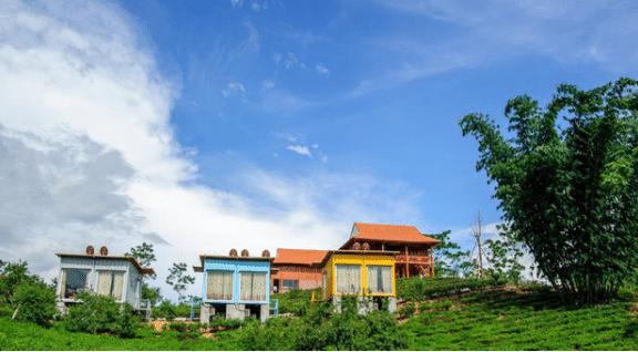 Toàn cảnh của Mộc Châu Arena Village