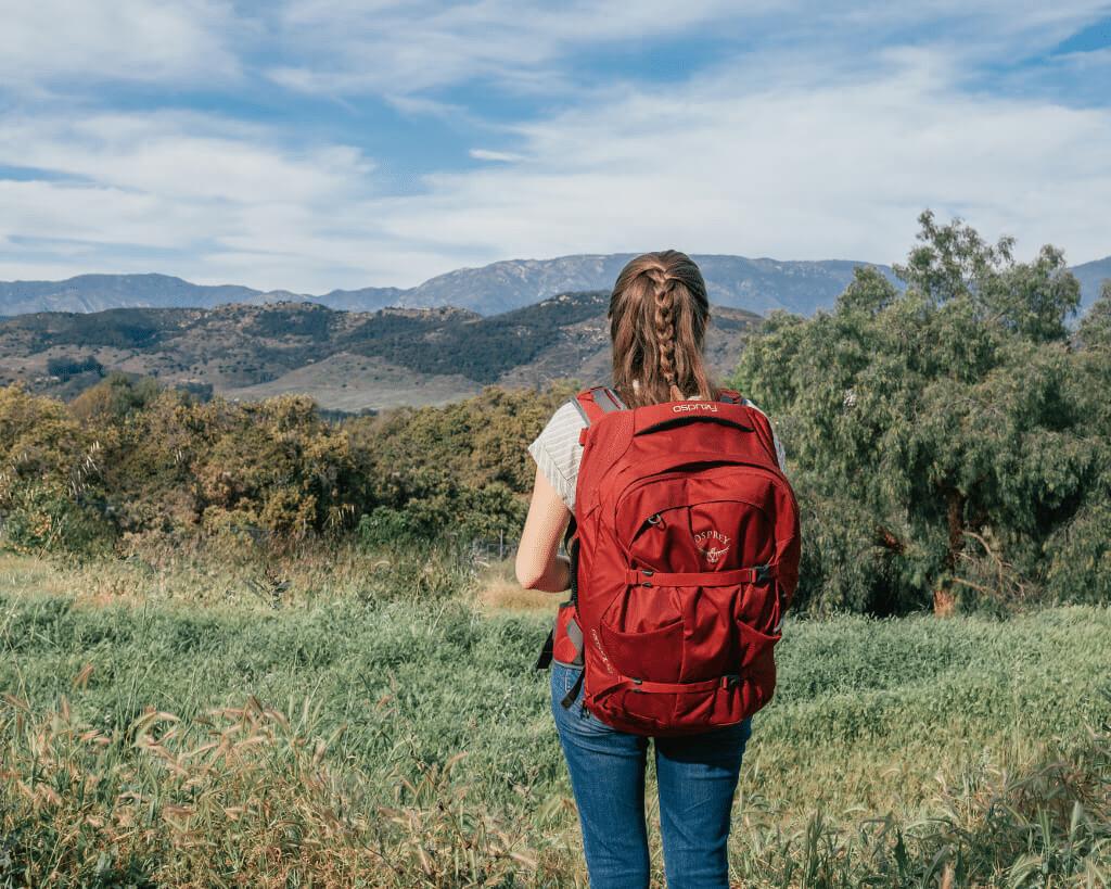 Mua túi du lịch ưu tiên lựa chọn phù hợp với vóc dáng