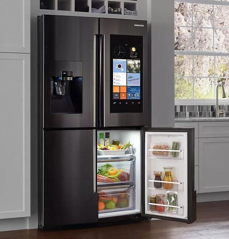 Thiết kế tủ lạnh Samsung luôn tinh tế, sang trọng