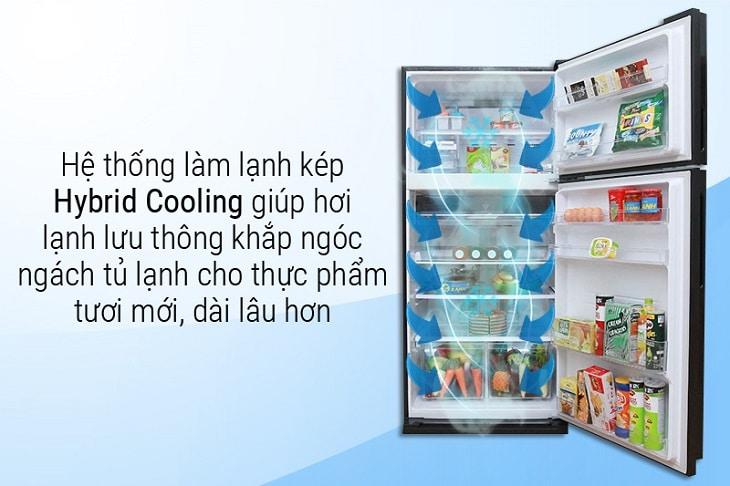 Tủ lạnh Inverter giúp làm lạnh nhanh