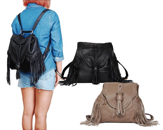 Túi Fringe Bag đang là xu hướng