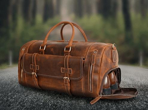 Túi Duffle có ngăn đựng giày riêng vô cùng tiện lợi
