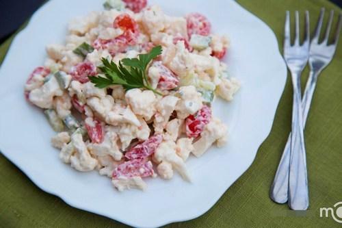 Giảm cân bằng món Salad Súp lơ trắng