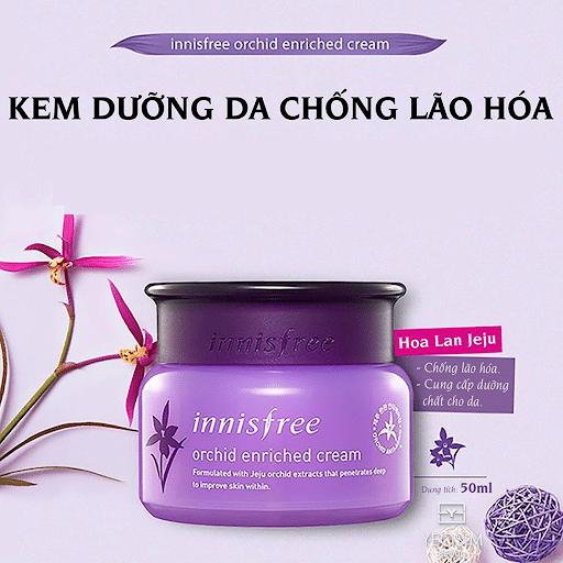 Kem dưỡng da chống lão hóa Innisfree Orchid Cream