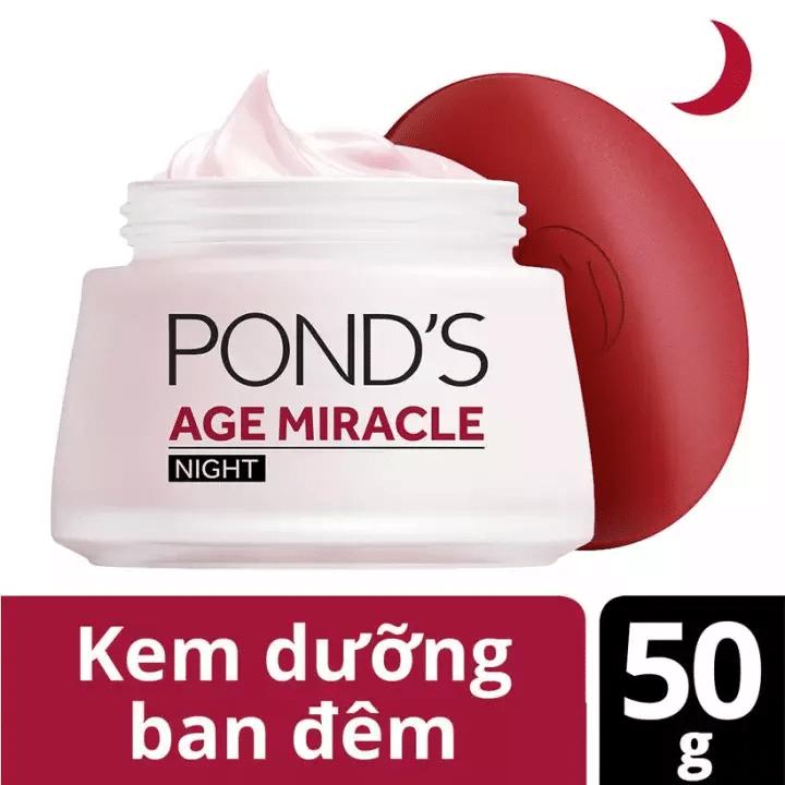 Kem dưỡng da chống lão hóa Pond's Age Miracle ban đêm